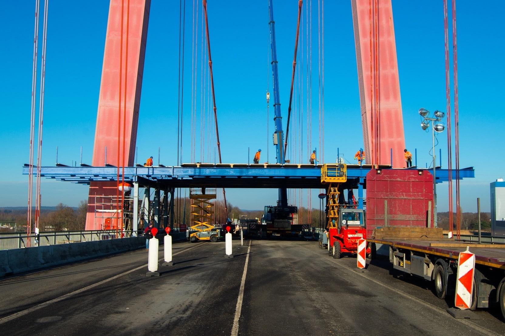 Instandsetzung Rheinbrücke Emmerich an der B220